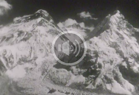 Document d'archives sur la conquête de l'Everest.
