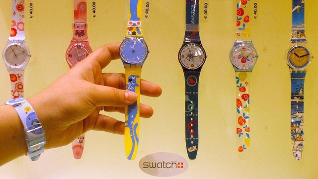 Swatch fête son trentième anniversaire en 2013. [Bernd Kammerer - Keystone]