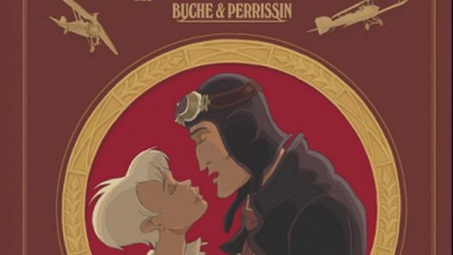 """La couverture du """"Vent des cimes"""" de Buche. [Glénat]"""