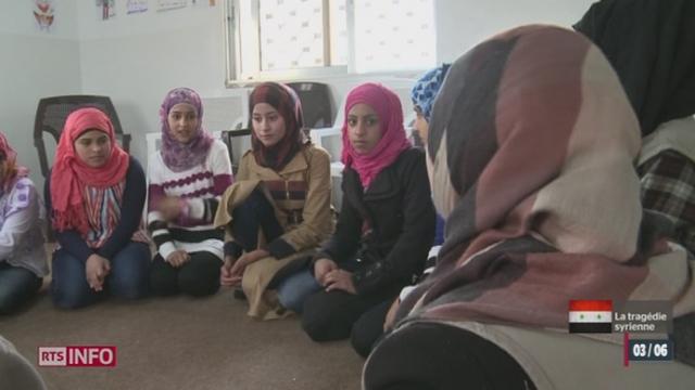 Conflit syrien: de nombreux civils ont trouvé refuge dans les pays voisins [RTS]