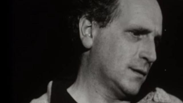 Léo Ferré en 1959. [RTS]