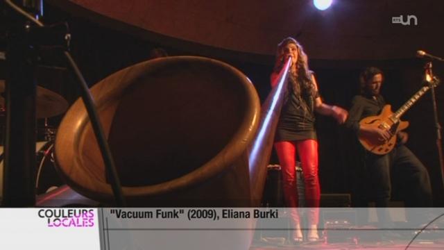 Eliana Burki réinvente le cor des Alpes [RTS]