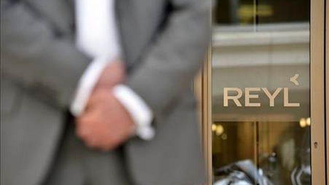 Le siège de la banque Reyl & Cie à Genève. [KEYSTONE]