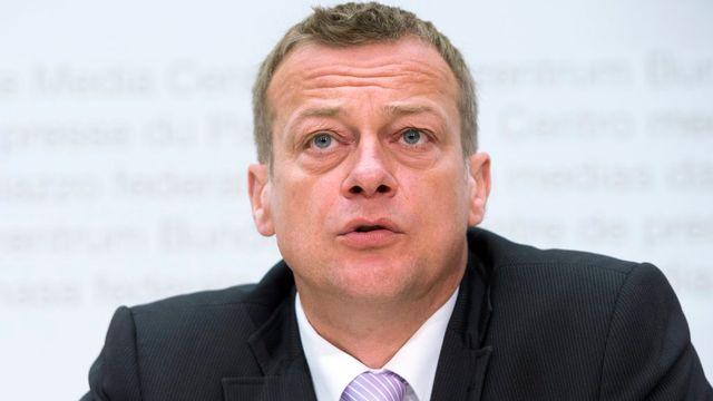 Martin Landolt, président du PBD. [Marcel Bieri - Keystone]