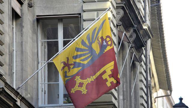 Le drapeau de Genève [Martial Trezzini - Keystone]