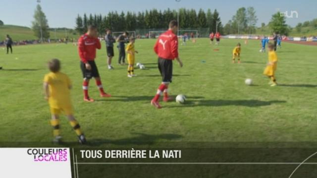 GE: l'équipe de Suisse de football peaufine son match de samedi contre Chypre [RTS]