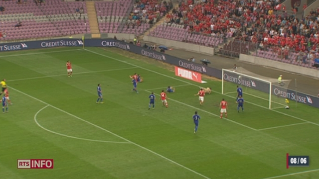 Football - Qualifications Mondial 2014: la Suisse gagne contre Chypre [RTS]