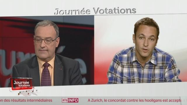 Matthias Reynard et Guy Parmelin sur l'élection du CF [RTS]