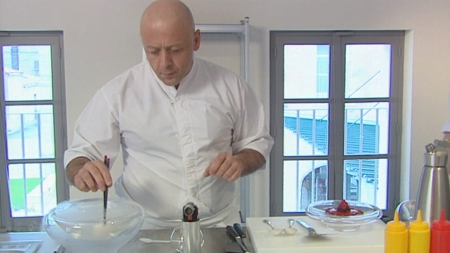 Le cuisinier Thierry Marx. [RTS]