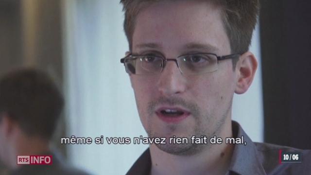 Un ancien employé de la CIA dévoile un programme d'espionnage internet [RTS]