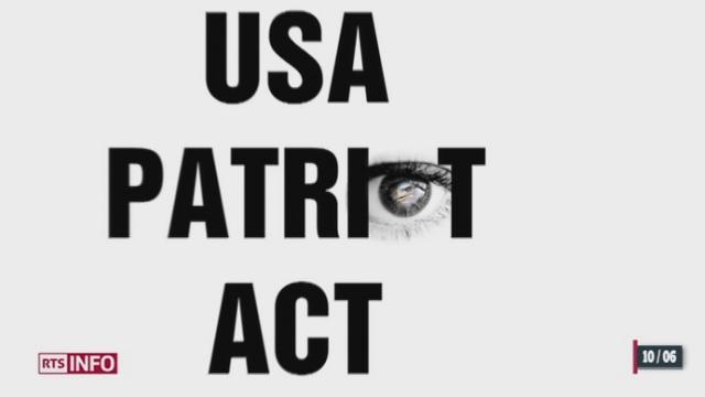 Nouvo: nos données privées sont visibles par les Etats-Unis à travers internet [RTS]