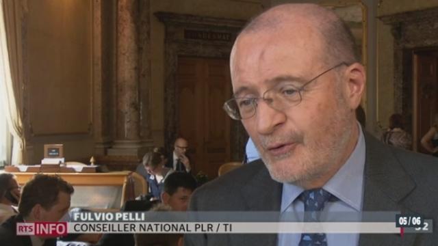 Le Conseil national demande davantage d'information sur les volontés américaines dans l'accord fiscal [RTS]