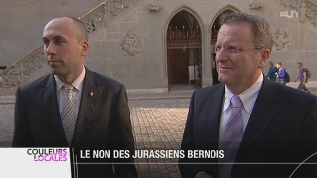 JU-  Une majorité d'habitants du Jura bernois ne veut pas d'un nouveau canton avec le Jura [RTS]