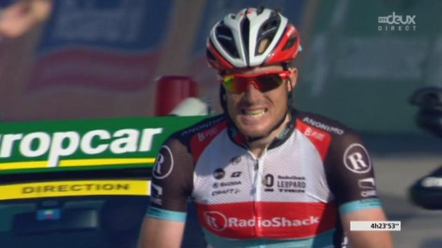 Cyclisme. Tour de Suisse (6e ét., Leuggern – Meilen, 188 km): Gregory Rast (SUI) s'impose en lâchant ses trois compagnons de fugue. Mathew Hayman (AUS) et 2e, Alexandre Kolobnev (RUS-3e) et Bert Grabsch (ALL-4e). Le peloton à [RTS]