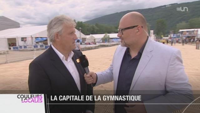 BE: la Fête fédéral de gymnastique démarre à Bienne [RTS]