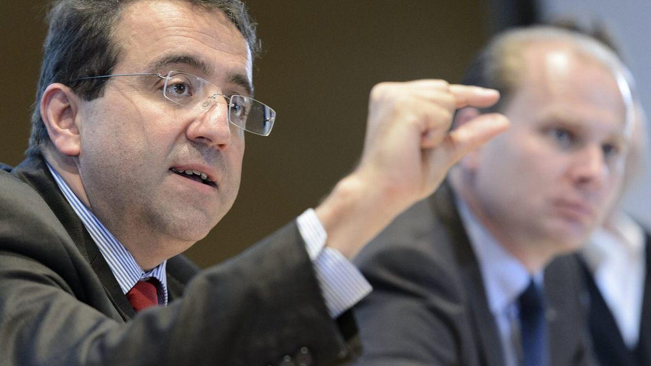 Pascal Broulis, conseiller d'Etat vaudois en charge des Finances. [Laurent Gilliéron - Keystone]