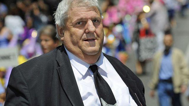 Moins bien élu de la liste de gauche, Daniel Brélaz (Les Verts) sauve finalement son fauteuil de syndic pour la nouvelle législature. [Christian Brun - Keystone]