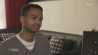 Reportage sur Faisal Aweys, requérant d'asile d'origine somalienne et  taekwondoiste [RTS]