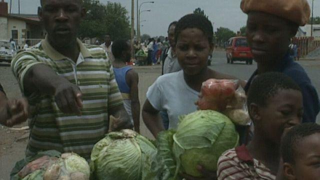 L'Afrique du Sud après l'abolition de l'apartheid en 1991. [RTS]