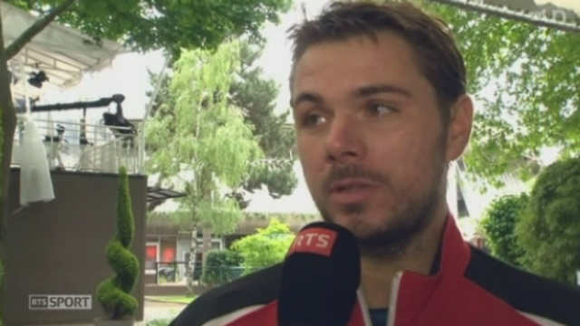 Tennis - Roland Garros: Stan Wawrinka est plus que motivé, malgré sa blessure [RTS]