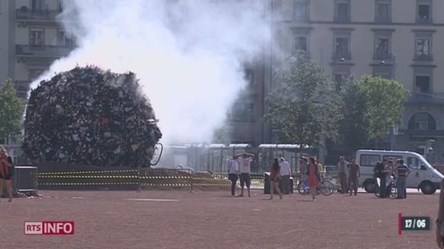 La ville de Genève lance une campagne contre les tonnes de déchets sauvages [RTS]