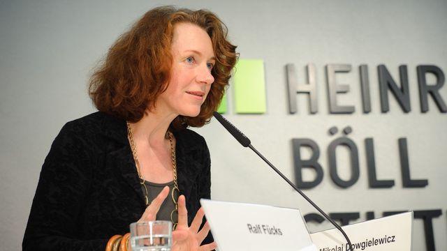 Ulrike Guérot, directrice du bureau berlinois du Conseil européen des relations étrangères. [Stephan Röhl - CC-BY-SA]