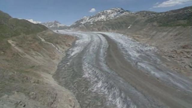 La fonte des glaciers. [RTS]