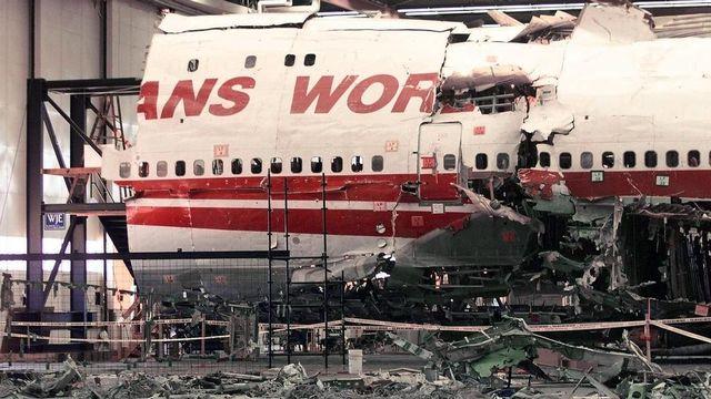 L'explosion du vol TWA 800 avait fait 230 morts. [EPA/AFP/Newsday/John Cornell - Keystone]