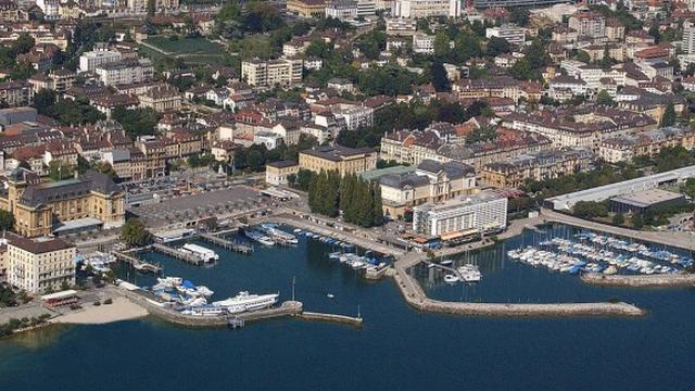L'état de délabrement du port de Neuchâtel est dénoncé par beaucoup. [NeuchatelVille]