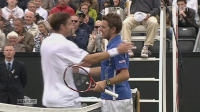 Tennis: le point sur la forme de Stanislas Wawrinka avant Wimbledon [RTS]