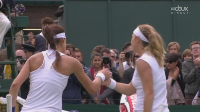 Simple dames (1er tour): Stefanie Voegele (SUI) - Sorana Cirstea (ROU-22). A 5-7 6-6, la Suissesse joue tout sur le tie break [RTS]