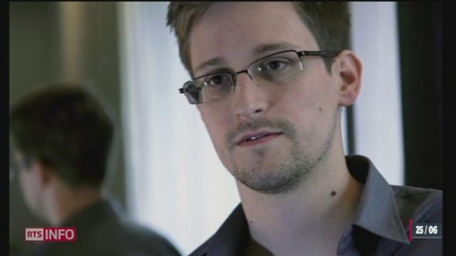L'affaire Snowden jette un froid entre les USA et la Russie [RTS]