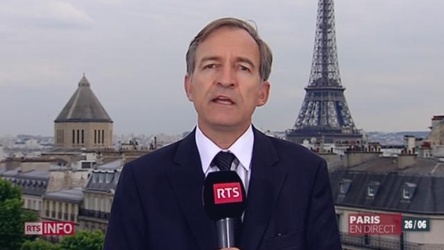 Affaire Cahuzac: les explications de Jean-Philippe Schaller [RTS]