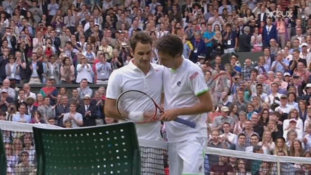 (2e tour) Sergiy Stakhovsky (UKR) - Roger Federer (SUI). 4e manche, 3e tie-break. La sensation est proche [RTS]