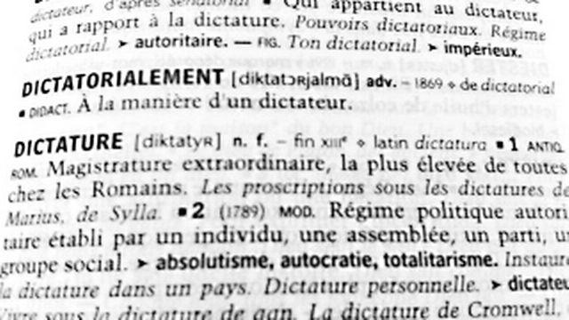 Dictature [RTS]