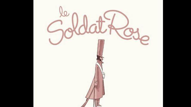 """La pochette de l'album """"Le Soldat Rose"""". [DR]"""