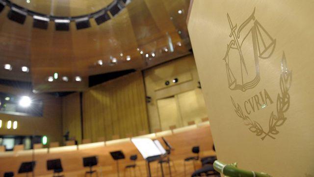 La Cour de Justice européenne à Luxembourg. [Nicolas Bouvy - Keystone]