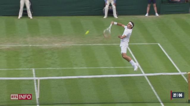 Tennis - Wimbledon: Federer s'incline face à Stakhovsky [RTS]