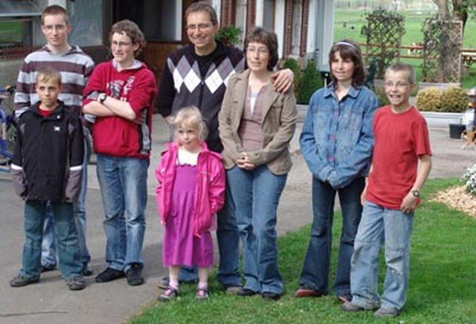 La famille d'Anouk.