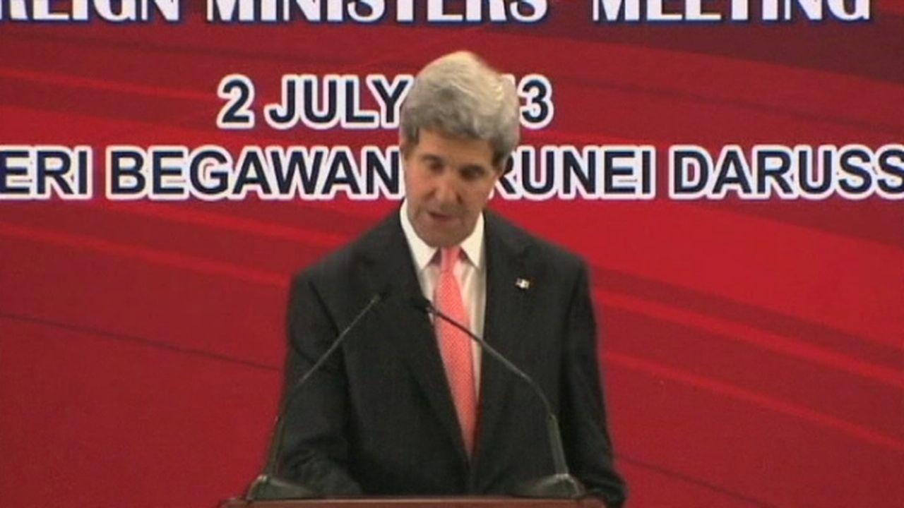 John Kerry justifie la recherche d'informations [RTS]