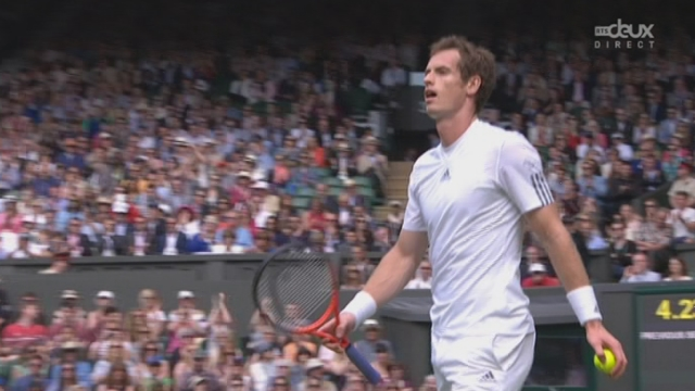 Youzhny – Murray (4-6): Murray remporte le premier set [RTS]