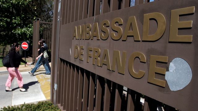 L'ambassade de France à Washington a été mise sur écoute. [Saul Loeb - AFP]