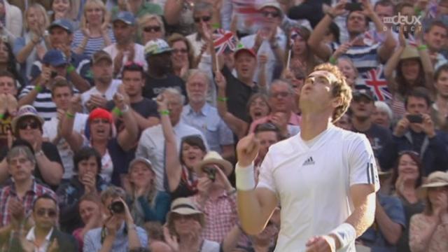 Youzhny – Murray (4-6, 6-7, 1-6): logique victoire de Murray qui se qualifie pour les quarts [RTS]
