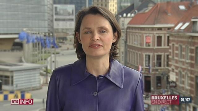 Scandale d'espionnage américain: le point avec Isabelle Ory à Bruxelles [RTS]