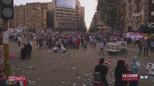 Egypte: le président Morsi a repoussé l'ultimatum lancé par l'armée [RTS]