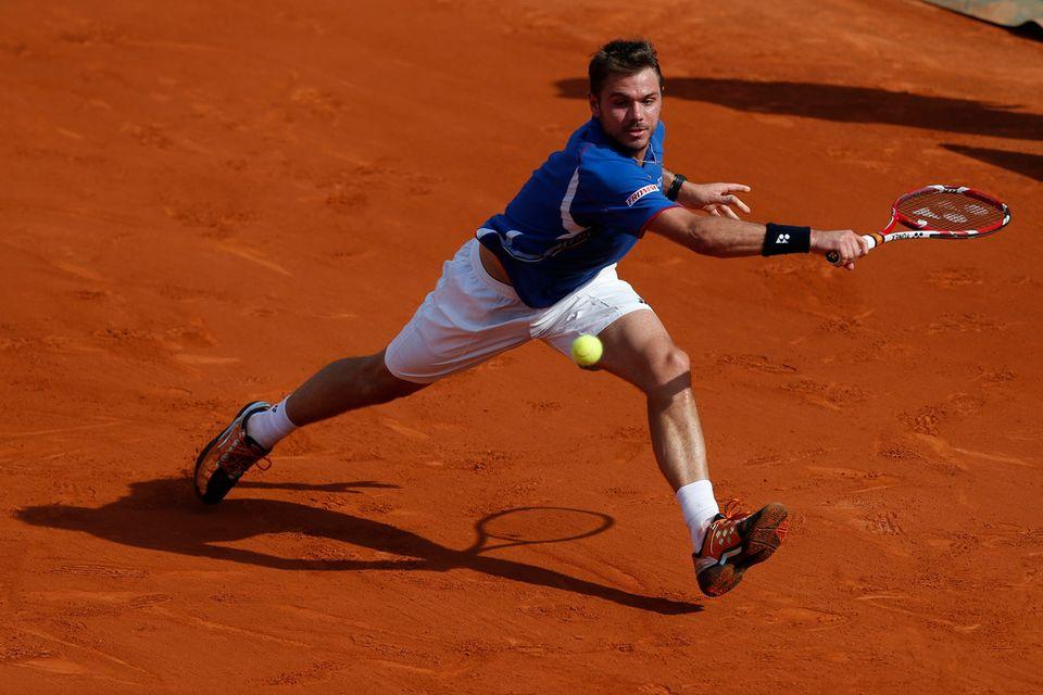 Wawrinka sera tête de série numéro 2 derrière Federer dans l'Oberland. [Petr David Josek - Keystone]