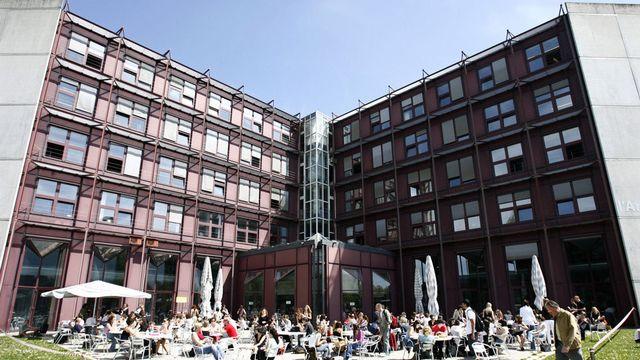 Le bâtiment L'Anthropole à l'Université de Lausanne, siège de l'Antenne romande de l'Institut suisse pour l'étude de l'art. [Laurent Gillieron - Keystone]