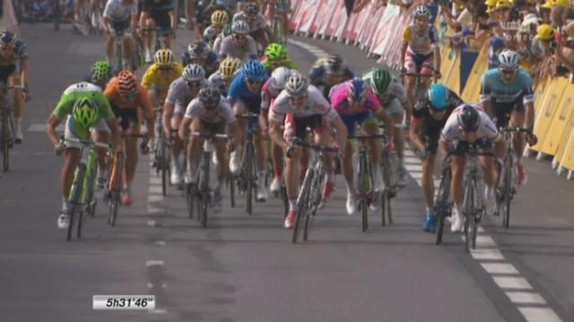 5e étape: victoire du roi des sprinters britanniques, Mark Cavendish. [RTS]