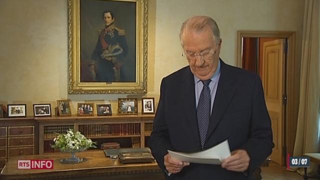 Belgique: le roi Albert II annonce son abdication en faveur de son fils Philippe [RTS]