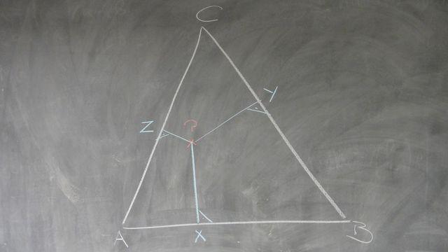 Le triangle ABC [SFV]